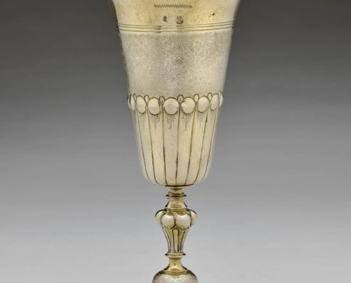 Standing cup silver-gilt, Augsburg 17th c.
