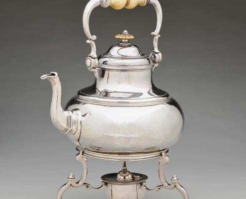 Kettle on stand, London George I