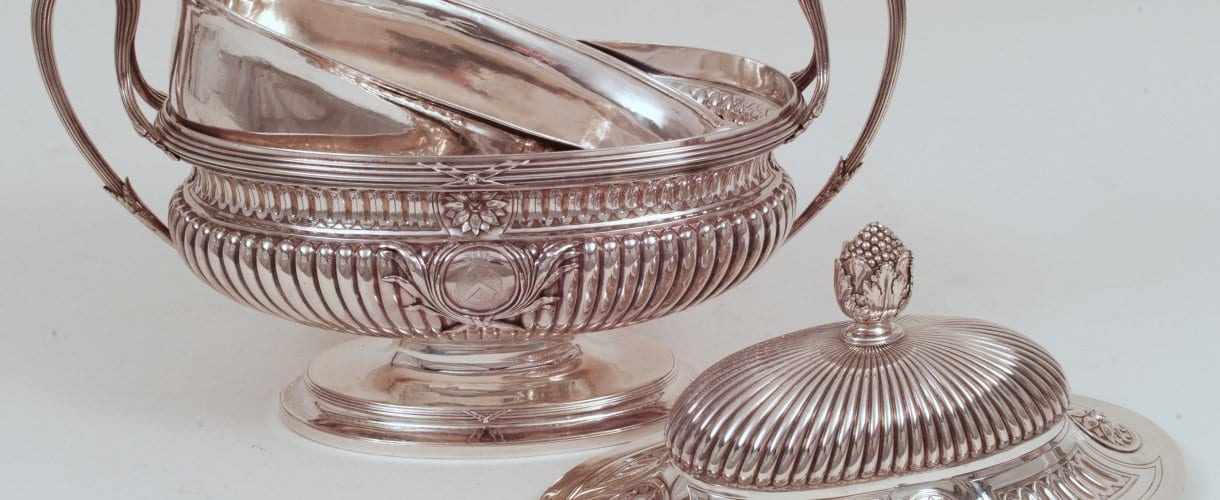 silver tureen, neoclassical, London
