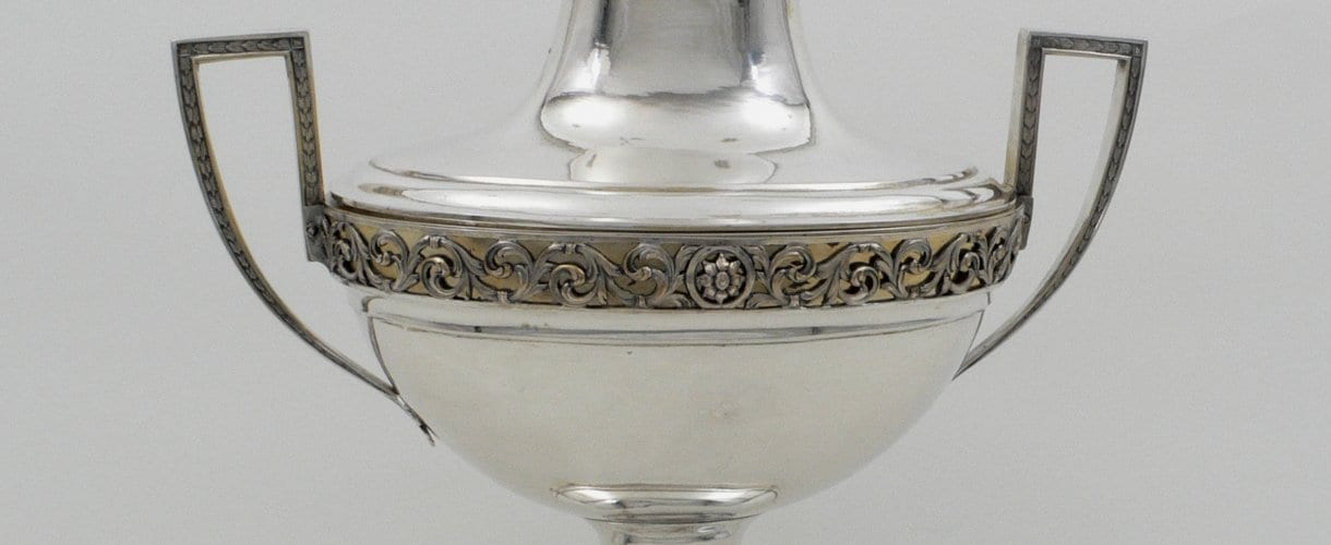 silver soup tureen, neoclassical
