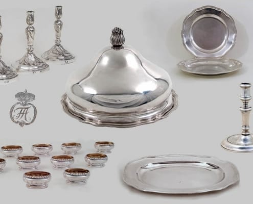 Royal Silver collection, Wettin 18th c.