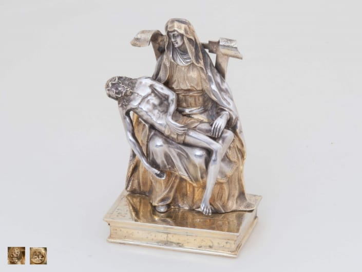 silver Lamentation, Pieta, German